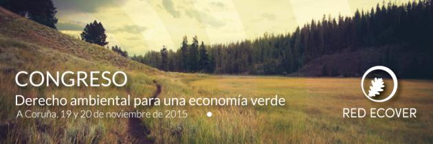 Congreso: Derecho ambiental para una economía verde