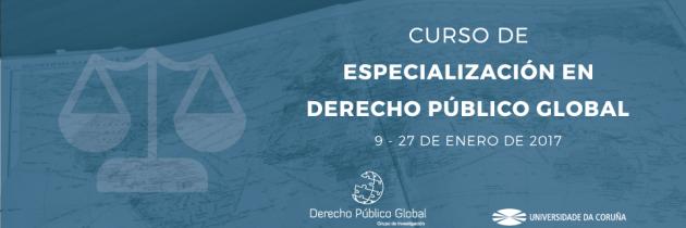 Curso de Especialización en Derecho Público Global